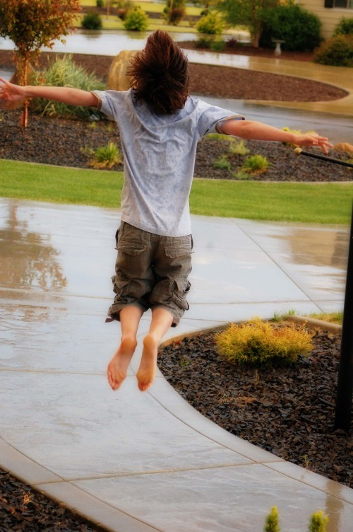 rain jump